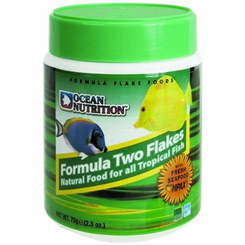 Ocean Nutrition Formula Two Flake Food 2.5Oz