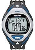 Timex Ironman Men's Race Trainer Heart Rate Monitor Watch, Black/Blue, Full Size