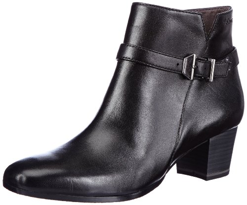 Tamaris Womens TAMARIS Boots Black Schwarz (BLACK 906) Size: 8 (42 EU)