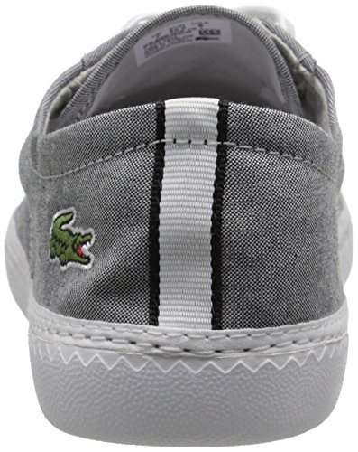 Lacoste Men's Malahini Deck 216 1 Fashion Sneaker, Black, 10.5 M US