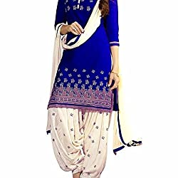 Shree Hari Creation Women's Poly Cotton Unstitched Dress Material (3845_Multi-Coloured_Free Size)