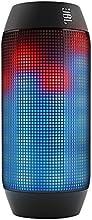 JBL Pulse - Enceinte Sans Fil Bluetooth avec Batterie Rechargeable et Jeux de Lumière LED Personnalisables Compatible avec Apple iOS et Appareils Android - Noir/Multi Couleurs