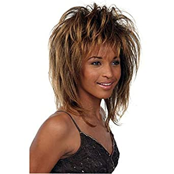 Amazon.com: Tina Turner Costume Wig: Costume Wigs: Clothing