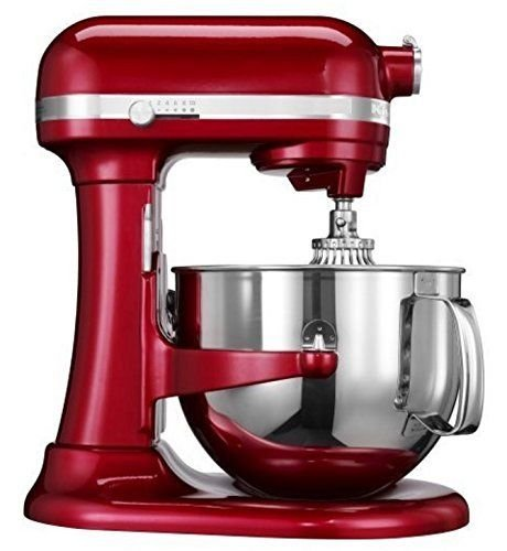 Kitchenaid (CERTIFIED REFURBISHED) Rkp26m1xCA Professional 600 Stand Mixer 6 quart 10-SPD Candy Apple Red (Kitchenaid Mixer 600 compare prices)