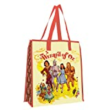 Vandor 71973 The Wizard of Oz Large Recycled Shopper Tote, Multicolored