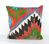 Wool Pillow, KP1026, Kilim Pillow, Decorative Pillows, Designer Pillows, Bohemian Decor, Bohemian Pillow, Accent Pillows, Throw Pillows