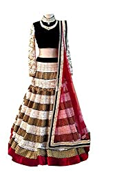 White Colored Bridel Designer Lehenga Choli
