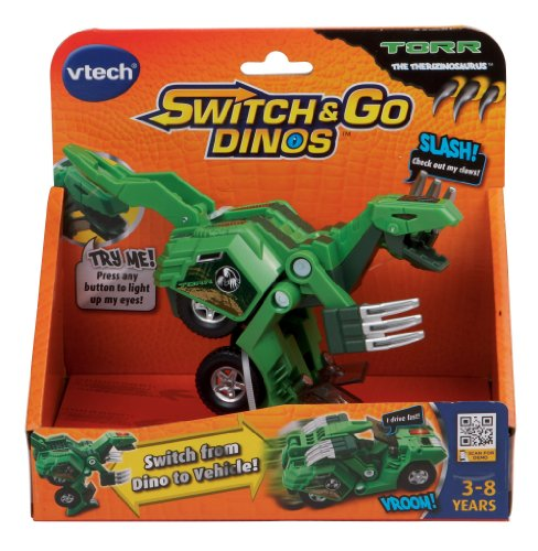 Imagen de VTech Switch & Go Dinos-Torr The Dinosaur Therizinosaurus