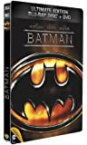 Batman - Combo Blu-Ray + DVD - Steelbook format Blu-Ray - Collection DC COMICS [Blu-ray] [Combo Blu-ray + DVD - Édition boîtier SteelBook]