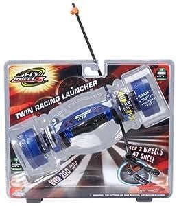 "Amazon.com: Jakks FlyWheels Twin Racing Launcher: Blue 18"" Diameter Panther Juice Wheel JPI FIFE"