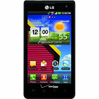 LG Lucid, Black 8GB (Verizon Wireless)