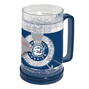 Buy NCAA Connecticut Huskies 16-Ounce Crystal Freezer Mug by Northwest