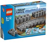 Lego City - 7499 - Jeu de Construction - Rails Flexibles