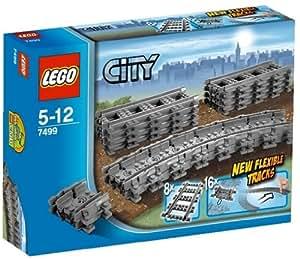 Lego City - 7499 - Jeu de Construction - Rails Flexibles