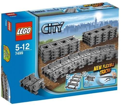 LEGO City 7499 Flexible Tracks Set - 1