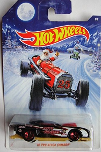 HOT WHEELS HOLIDAY HOT RODS 2014 SERIES 2010 PRO STOCK CAMARO 1/8 - 1
