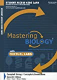 9780321765413: MasteringBiology with MasteringBiology Virtual Lab Full Suite -- Standalone Access Card -- for Campbell Biology: Concepts & Connections (Mastering Biology (Access Codes))