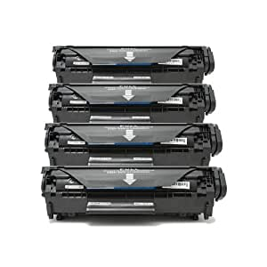 4 Packs - New compatible Canon 104 Toner Cartridges for Canon ImageClass D420 D480 MF4150 MF4270 MF4350d MF4370dn MF4690 by Huifeng Technology