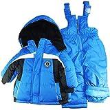 iXtreme zweiteiliger Jungen-Schneeanzug für Babys und Kleinkinder, starker Farbkontrast - 18 Months - Königsblau
