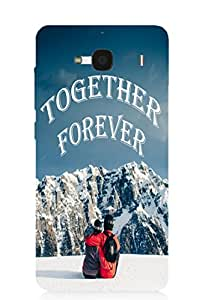 Back Cover for Redmi 2 together forever