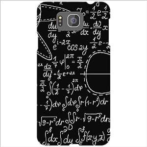 Printland Circle Phone Cover For Samsung Galaxy Alpha G850