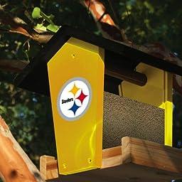 Pittsburgh Steelers Wood Birdfeeder Kit