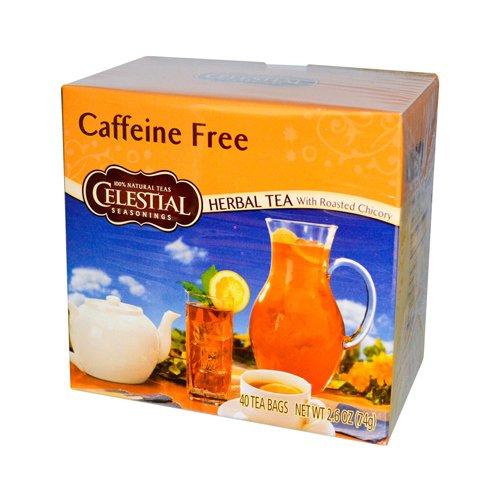 Celestial Seasonings Herbal Tea Caffeine Free - 40 Tea Bags - Case of 6