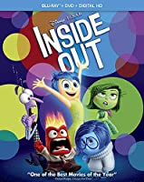Inside Out (Blu-ray/DVD Combo Pack + Digital Copy) from Walt Disney Studios