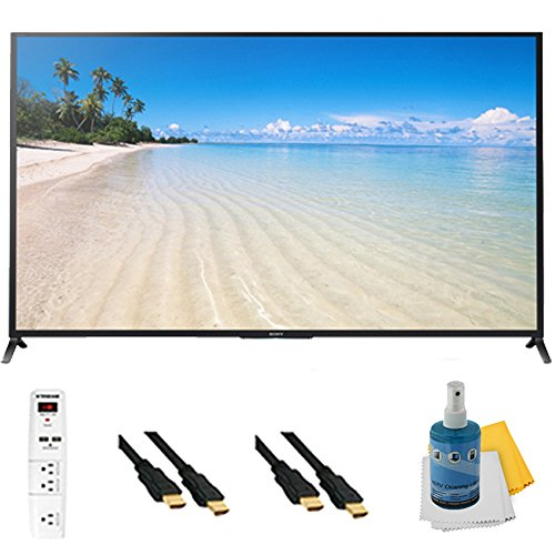 "70"" 1080P 120Hz 3D Led Hdtv Motionflow Xr 480 Wifi Plus Hookup Bundle Kdl70W850B. Bundle Includes Tv, 3 Outlet Surge Protector With 2 Usb Ports, 2 -6 Ft High Speed 3D Ready 1080P Hdmi Cable, Performance Tv/Lcd Screen Cleaning Kit, And Cleaning Cloth."