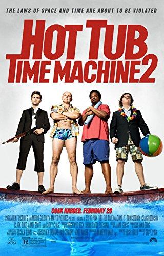 "HOT TUB TIME MACHINE 2 ""B"" 27x40 D/S ORIGINAL MOVIE POSTER"