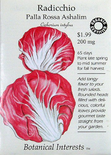 Radicchio Certified Organic SeedsB001D1D02K