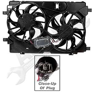 Amazon Com Apdty 732617 Dual Radiator Cooling Fan