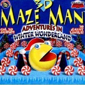 3D Maze Man: Adventures in Winter Wonderland - 1