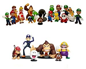 24 Nintendo Super Mario #EVIL Figuren 3-7cm OPTIMAL FÜR ADVENTSKALENDER NEU & OVP YOSHI WARIO LUIGI SET thematys
