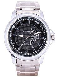 Time Expert Analogue Black Dial Men's Watch - TE100329
