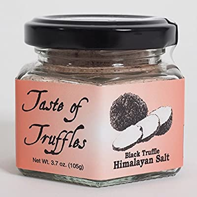 Taste of Truffles, Black Truffle Himalayan Pink Salt 14% (wt.3.7 oz) from Taste of Truffles