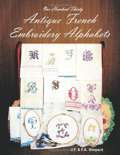 For Sale! One Hundred Thirty Antique French Embroidery Alphabets