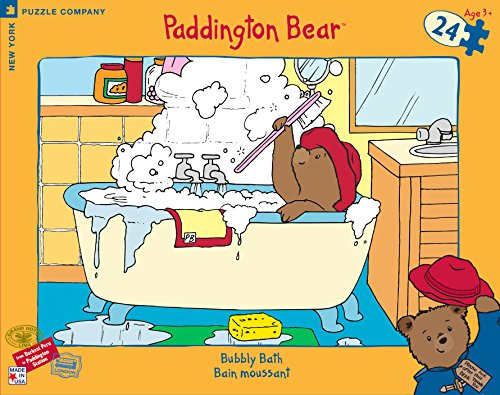 Paddington Bear Bubbly Bath Floor Puzzle - 1