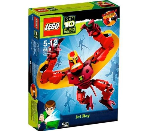 Lego Ben 10 Alien Force 8518 Jet Ray Picture