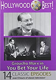 Hollywood Best! Groucho Marx in You Bet Your Life - 14 TV Episodes