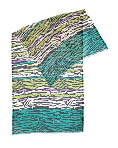 Piunobile Sciarpa Fine Merinos Wool 70X180 Tihar Verde