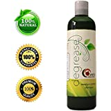 Shampoo for Oily, Itchy & Greasy Hair with Organic Rosemary, Peach Kernel and Jojoba - 100% Natural Treatment for Women, Men & Teens - Stimulates Cell Renewal and Increases Scalp/hair Circulation - Gentle & Safe for Color Treated Hair - (8oz) By Maple Holistics