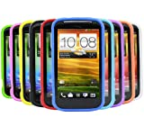 iTALKonline-SoftSkin-10-PACK-PURPLE-RED-LIGHT-BLUE-GREEN-DARK-BLUE-GREEN-YELLOW-BLACK-WHITE-ORANGE-PINK-Silicone-Protective-Armour-Case-Skin-Cover-Shell-for-HTC-One-X-Andriod-SmartPhone