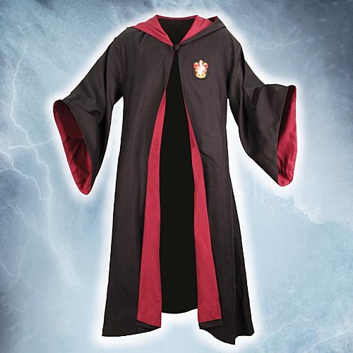 Harry Potter Gryffindor Deluxe School Robe Replica Young Adult