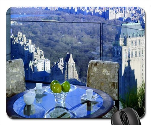 Four Seasons Hotel New York Mouse Pad/Mouse Mat, Mousepad Modern Mouse Pad/Mouse Mat