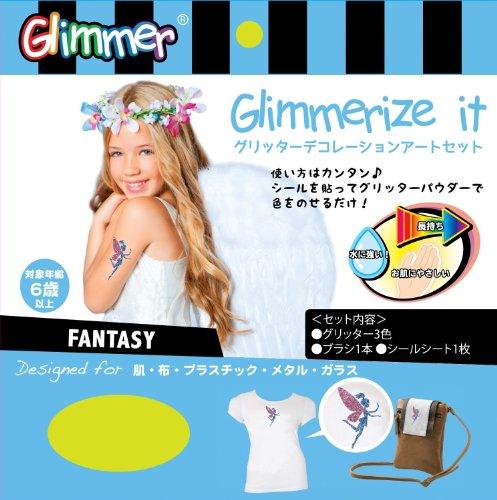 Glimmerize It! Glimmer Glitter Transfer Art - Fantasy - 1
