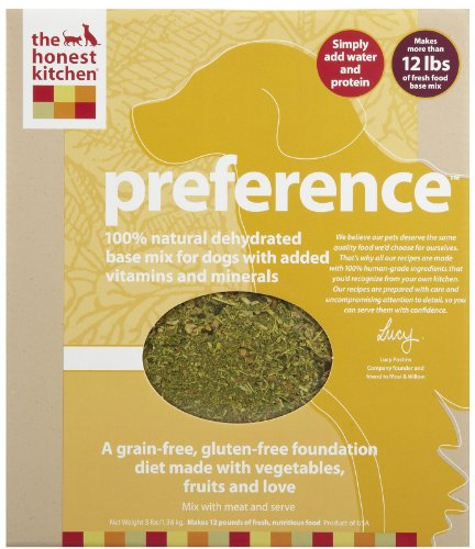 Honest Kitchen Preference Grain Free Foundation Diet For Dogs 3lb By The Honest Kitchen At The