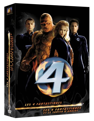 Les 4 fantastiques + Les 4 fantastiques et le Surfer d'Argent (Coffret 2 DVD)