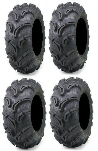 Full set of Maxxis Zilla 30×9-14 and 30×11-14 ATV Mud Tires (4 ...