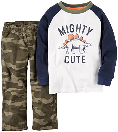 carterss-langarmshirt-hose-68-74-baby-junge-outfit-us-size-9-month-boy-camouflage-dino